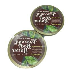 2 Pack - Trader Joe's Coconut Body Butter + Shea Butter & Vi