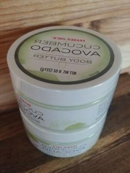 2 PACK Trader Joe's Cucumber Avocado Body Butter Avocado Joj
