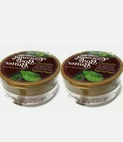 2 Pack Trader Joe's Luxurious Feel Body Butter With Coconut