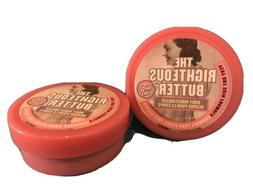 2 Soap & Glory THE RIGHTEOUS BUTTER Body Moisturizer Very Dr