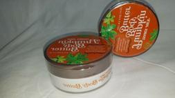 2 - Trader Joe's Seasonal Pumpkin Body Butter 8oz. NEW SEA