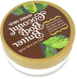 2 Jars - Trader Joe's Vegan Coconut Body Butter 8oz Each Jar