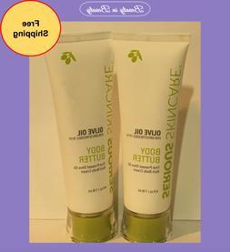 2 x olive oil replenishing body butter