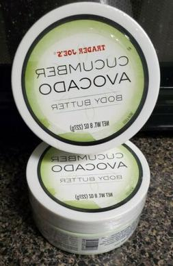 2X Trader Joe's Cucumber Avocado Body Butter. 8oz/each. FREE