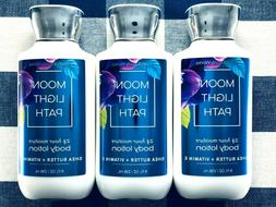 3 Bath and/& Body Works MOONLIGHT PATH Shea Butter & Vitamin