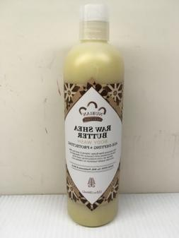 3 pack of Nubian Heritage Body Wash Raw Shea Butter - 13 oz
