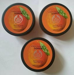 3 packs -The Body Shop MANGO Body Butter Travel 50ml / 1.69