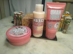 3pc Soap & Glory Shower Cream Gel & Righteous Body Butter, H