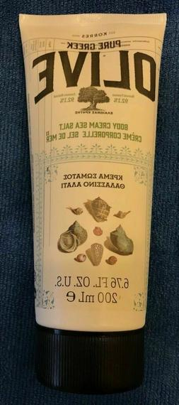 KORRES ♾ 6.76 Oz Greek Olive Oil Sea Salt Body Cream Lotio