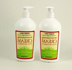 Trader Joe's Moisturizing Cream Extra Dry Formula 2 Pack