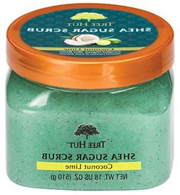 Tree Hut Shea Sugar Scrub Coconut Lime, 18oz, Ultra Hydratin