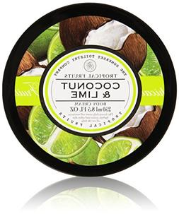 Tropical Fruits Coconut & Lime Body Cream