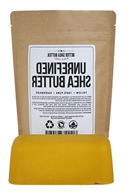 Yellow Shea Butter - Raw, 100% Pure, Unrefined, Fresh - Mois