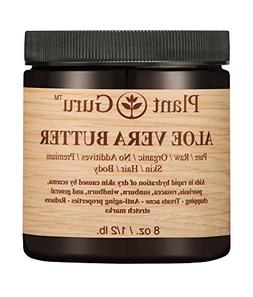 Aloe Vera Body Butter 8 oz.100% Pure Raw Fresh Natural Cold
