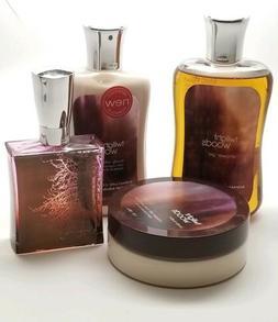 Bath & Body Twilight Woods Perfume, Body Butter, Shower Gel