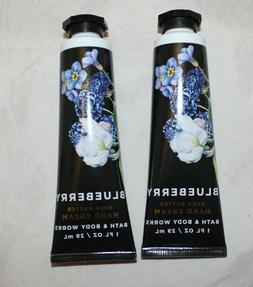 Bath & Body Works Hand Cream - Blueberry w/ Shea Butter X 2