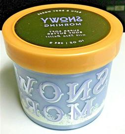 Bath and Body Works SNOWY MORNING Super Soft Body Butter w/