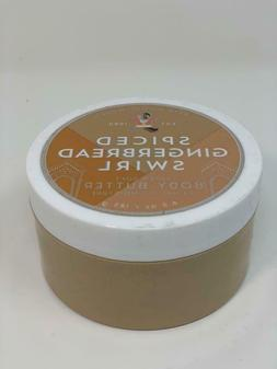 Bath & Body Works Spiced Gingerbread Swirl Body Butter 6.5 o