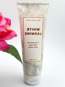 Bath and Body works WHITE JASMINE Ultra Shea Body CREAM loti