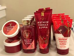 Bath & Body Works Winter Candy Apple Body Cream Lotion Butte