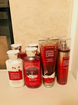 Bath & Body Works Winter Candy Apple Body Cream Lotion Wash