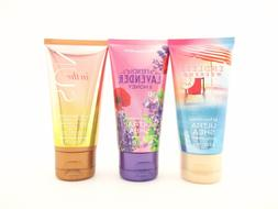 Bath Body Works Travel Size Body Cream Shea Butter 2.5oz Lot