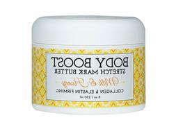 Body Boost Milk & Honey Stretch Mark Butter 8 oz.- Pregnancy