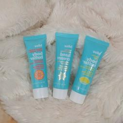 Bliss Body Butter & Hand Cream 3 Pc Travel Size Maximum Mois