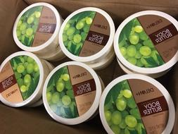 Delon + Body Butter Grapeseed 6.9oz - Wholesale Lot of 12 -