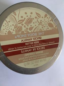 The Body Shop Body Butter Spiced Vanilla Discontinued Sealed