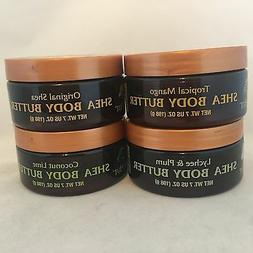 Brand New! Tree Hut Shea Body Butter CHOOSE SCENT  7 oz each