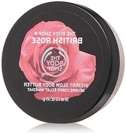 The Body Shop British Rose Instant Glow Body Butter, 50ml
