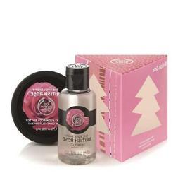 The Body Shop British Rose Treats Gift Set   Shower Gel Glow