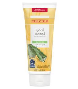 Burt's Bees Aloe & Shea Butter Sensitive Body Lotion  -  6 o