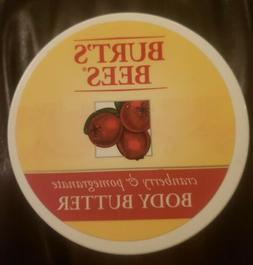 Burt's Bees Body Butter, Cranberry & Pomegranate 6.5 OZ./E18