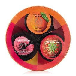 The Body Shop Body Butters Gift Set - Strawberry, British Ro