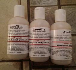 C. Booth Honey Almond Nourishing Bath & Body Wash 3 fl oz