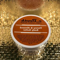 C. Booth Honey & Almond Body Butter, Extra Rich & Cream, 8 o