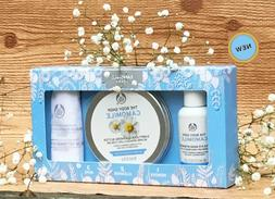 THE BODY SHOP CAMOMILE 123 KIT EYE MAKEUP REMOVER SUMPTUOUS