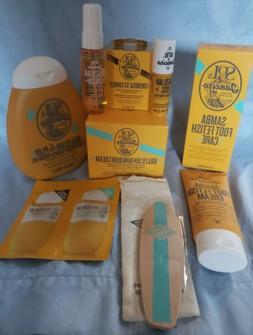 Sol De Janeiro Candle Lip Butter Shower Gel Samba Foot care