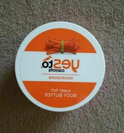 Yes To carrots Nourishing 6oz super rich body butter *discon