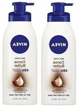 NIVEA Cocoa Butter Body Lotion 16.9 fl oz
