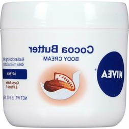 NIVEA Cocoa Butter Body Cream 48 Hour Smooth Moisture Dry Sk