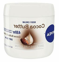 3 NIVEA COCOA BUTTER BODY CREAM 15.5 OZ EXP: 1/19 JL 2520
