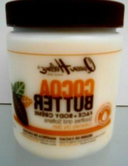 QUEEN HELENE ~Cocoa Butter ~ Face + Body Creme ~ Soothes and