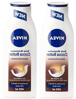 Nivea Cocoa Butter Body Moisturizer, 13.5 Oz / 400 Ml