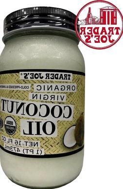 NEW Trader Joe's Coconut Certified Organic Extra Virgin Coco
