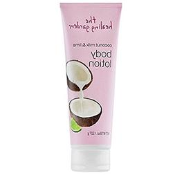 The Healing Garden Coconut Milk & Lime Body Lotion 8 oz  NEW