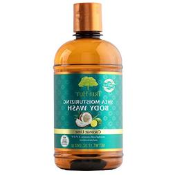 Tree Hut Coconut Lime Shea Moisturizing Body Wash, 17 oz