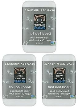 DEAD SEA Salt SOAP 3 PK - Shea Butter, Argan Oil, Magnesium,